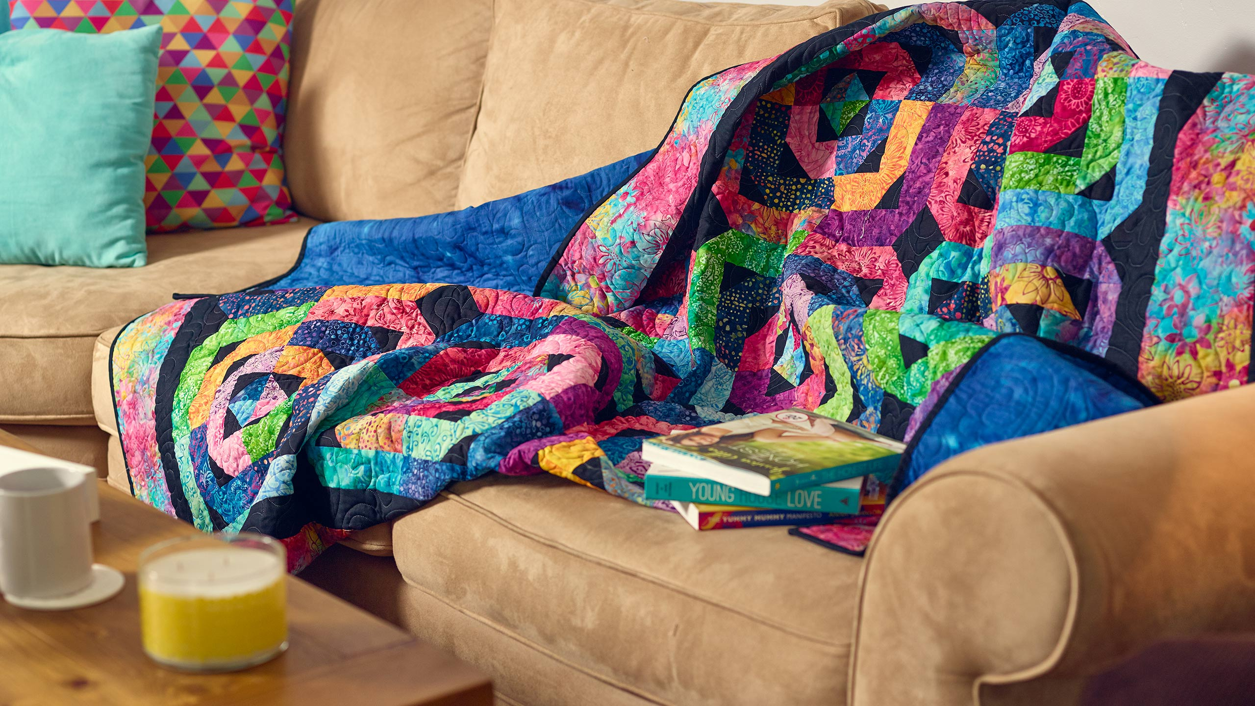 Cathedral Window Quilt Using The Circle Magic Ruler Quilting Tutorials